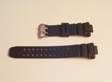 Original Casio G1500 Black 16mm Strap - S87